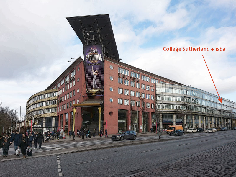 Neue Flora – College Sutherland Hamburg und ISBA